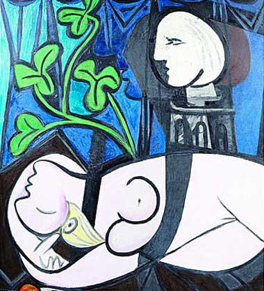 PABLO RUIZ  PICASSO Desnudo-hojas-verdes-y-busto-1932-de-pablo-ruiz-picasso