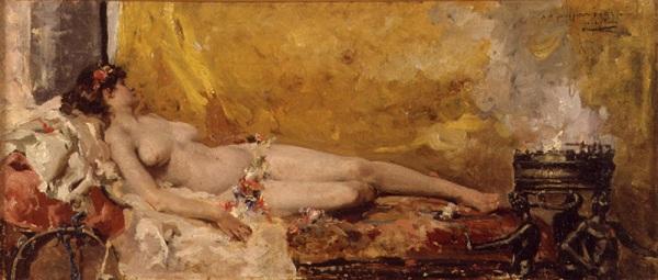 Bacante en reposo, de Joaquin Sorolla