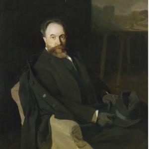 El pintor Aureliano Beruete, de Joaquin Sorolla (1902)