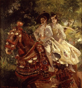 Grupa valenciana, de Joaquin Sorolla (1906)