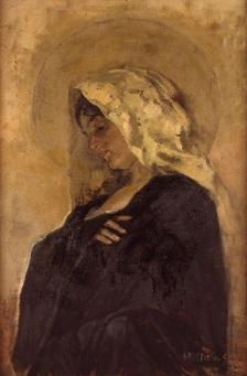 La Virgen Maria, de Joaquin Sorolla (c.1885)