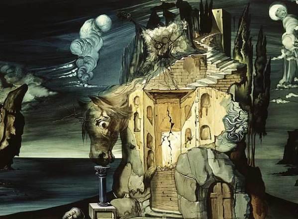 Proyecto de Telón de `El loco Tristán´(1944), de Salvador Dali