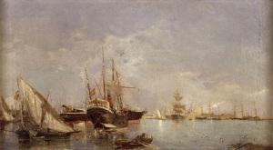 Puerto de Valencia, de Joaquin Sorolla