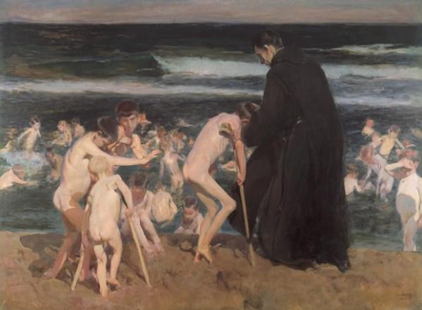 Triste herencia, de Joaquin Sorolla (1899)