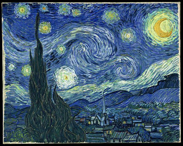 Nuit étoilée (1889), de Vincent van Gogh
