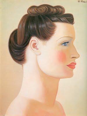 Cabeza de mujer (1941), de Maruja Mallo