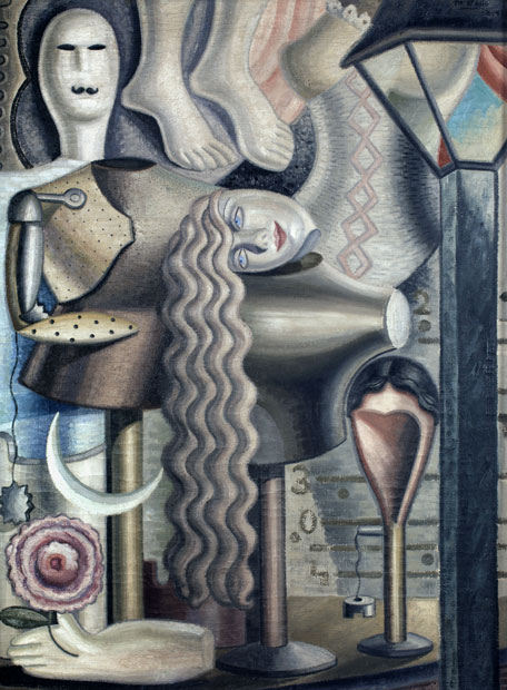 'Estampa (Escaparate)' (1927), de Maruja Mallo