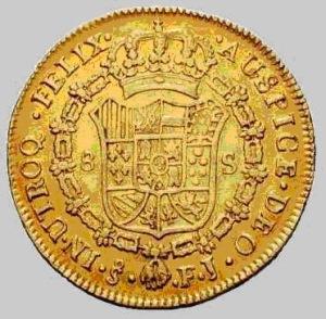 Hallados 13 escudos de oro de Carlos III en Córdoba (2009)