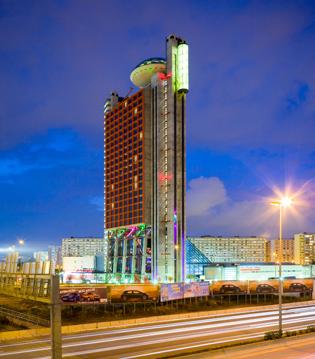 Hotel Hesperia Tower  Barcelone