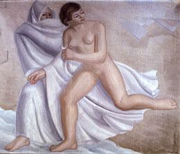 Huida, de Maruja Mallo