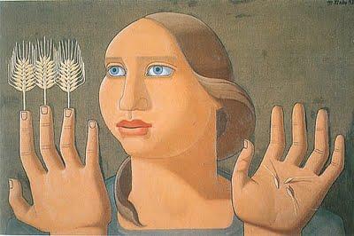 La sorpresa del trigo, de Maruja Mallo