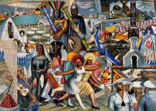 La verbena (1927), de Maruja Mallo