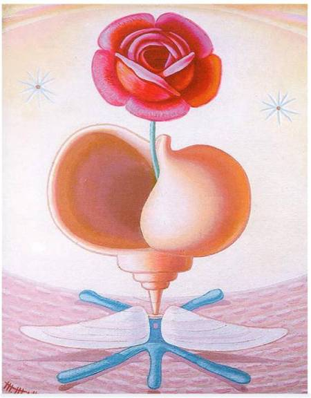 Naturaleza viva (1942), de Maruja Mallo