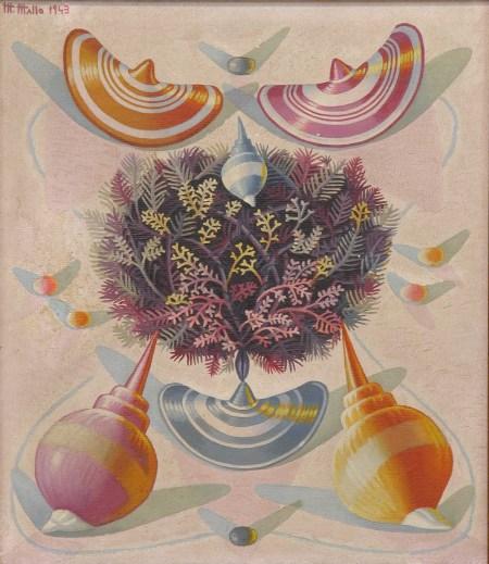 Naturaleza viva (1943), de Maruja Mallo