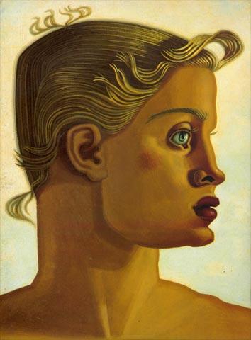 'Ouro (retrato bidireccional)' (1951), de Maruja Mallo