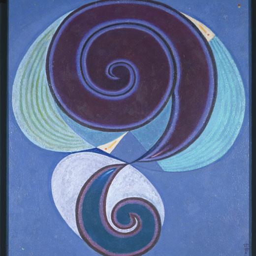 Protoesquema (c. 1982), de Maruja Mallo