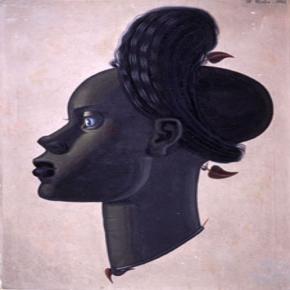 Retrato de mujer negra, de Maruja Mallo