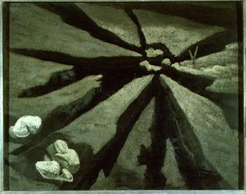 Tierra y excerementos (1932), de Maruja Mallo