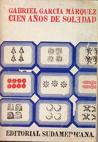 Portada de Cien años de soledad (1969), Editorial Sudamericana