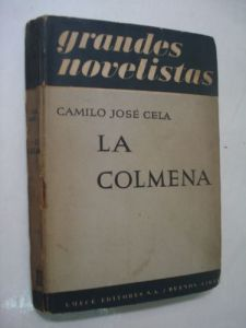 Portada de La colmena (1951), Emecé Editores